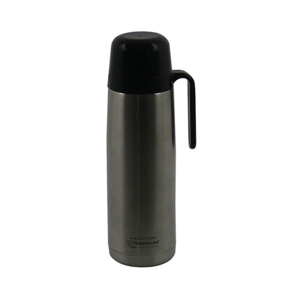 Garrafa Térmica de Inox Termolar 1 Litro com Rolha Clean Revolution